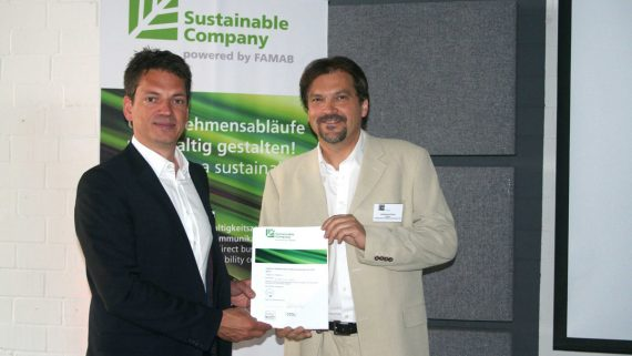 Zertifizierung Sustainable Company